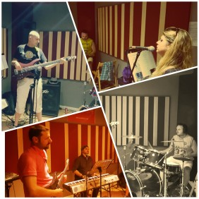 Movin' K Rehearsal Collage